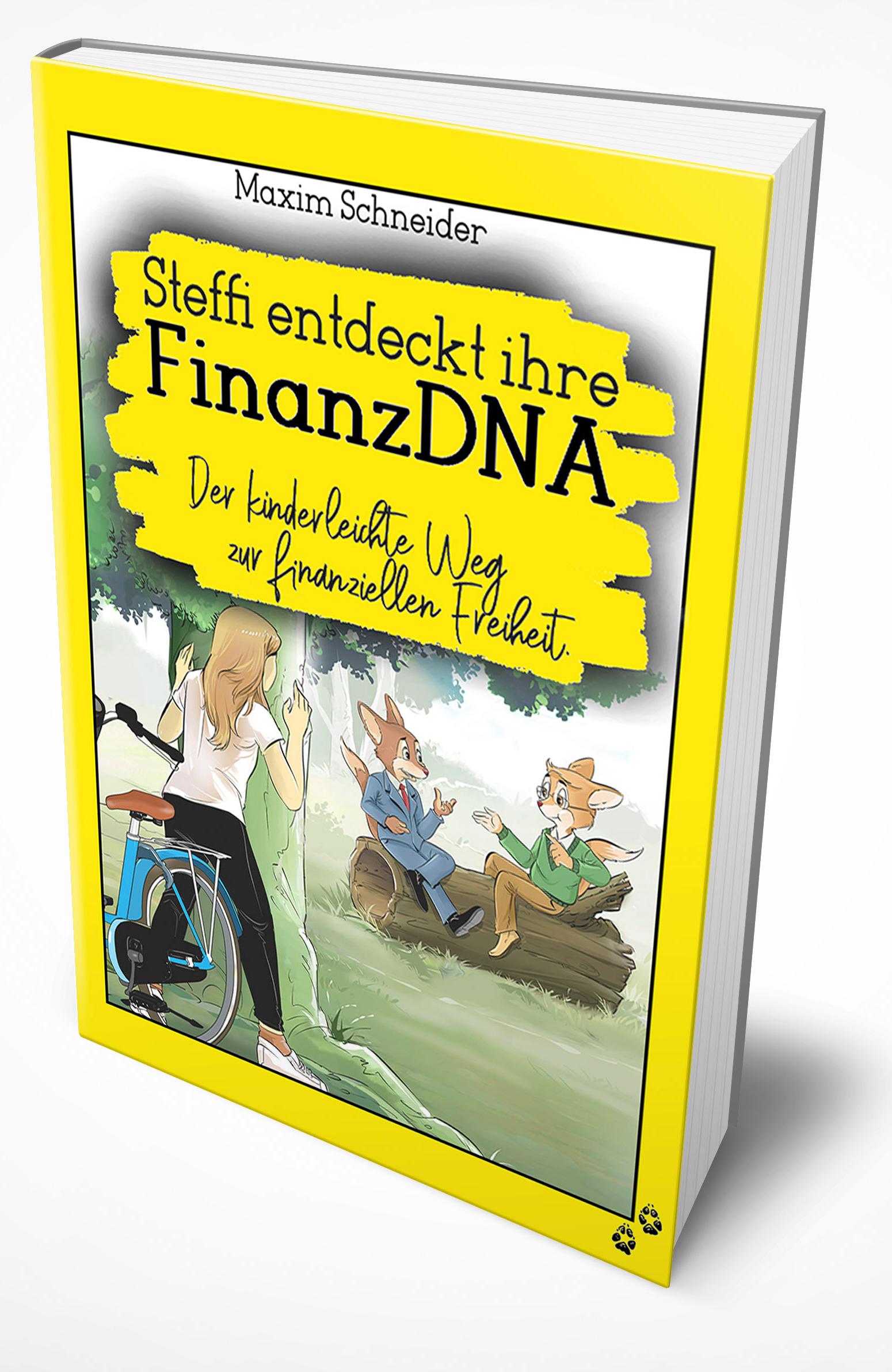 Buch Steffi entdeckt ihre FinanzDNA